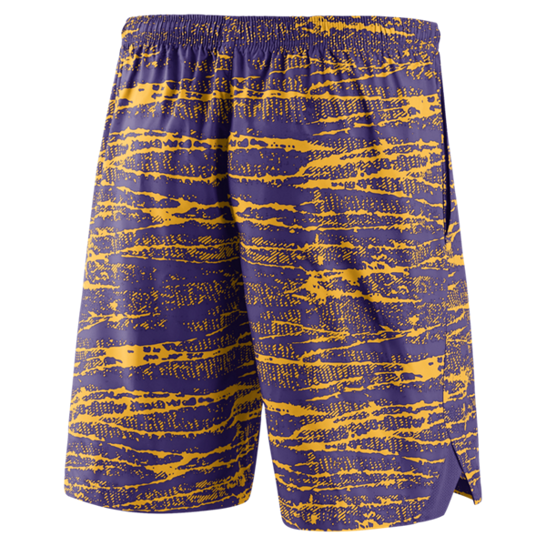 73e9c642c0 Nike LSU Men's Static Shorts - Purple and Gold. View detailed images (1)