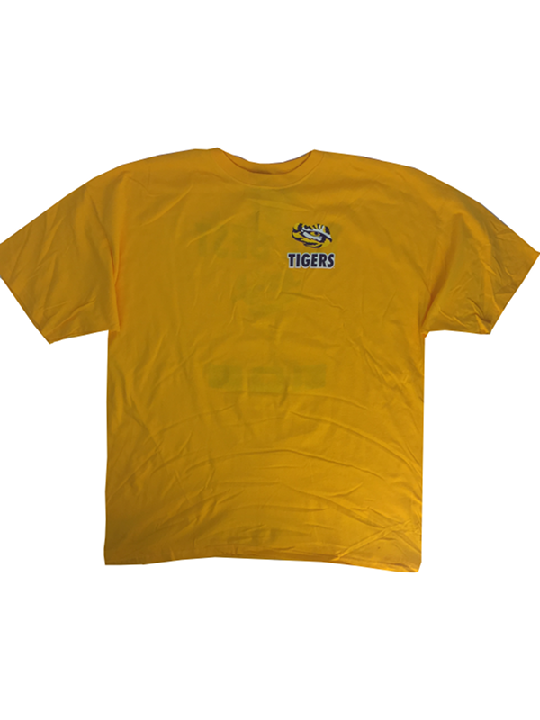 18392c784143 LSU Tigers Men's The Best The Rest Cotton T-Shirt - Gold. View detailed  images (3)