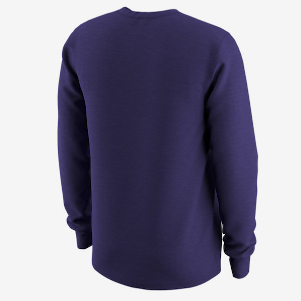 2fdd23f09926 Nike LSU Men's Camp Pack Long Sleeve Athletic Cut T-Shirt - Purple. View  detailed images (1)