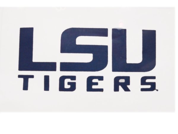 LSU Tigers 3'x5' White  Flag with Grommets
