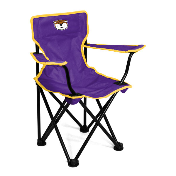 LSU Tigers Toddler Folding Canvas Chair Purple