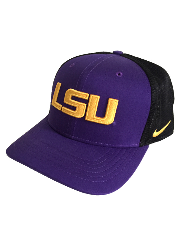the best attitude 2ddee 31c24 ... where to buy nike lsu tigers aerobill lightweight sized flex mesh hat  purple and black 94b0f