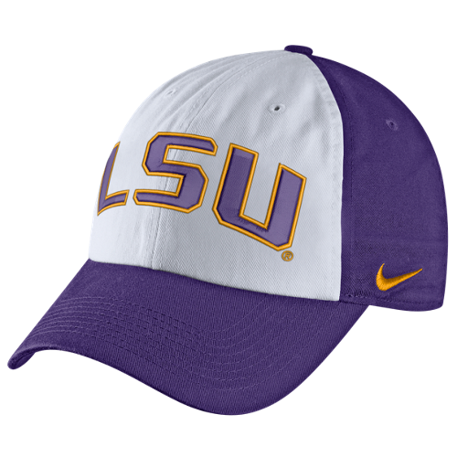 online retailer 8c236 7ed2a greece nike lsu tigers adjustable stretch fit hat c7d6a 6f859  discount nike  lsu tigers heritage86 word mark verb hat 245da 67e94