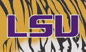 LSU Tigers Silk Screened Tiger Striped 3' x 5' Flag with Grommets