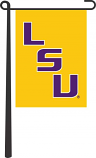LSU Tigers Gold Garden Flag