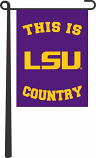 "LSU Tigers 13"" x 18"" This is LSU Country Garden Banner - Purple"