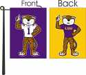 "LSU Tigers 2-Sided #1 Mike the Tiger 13"" x 18"" Garden Flag - Purple and Gold"