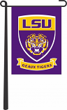 "LSU Tigers 13"" x 18"" LSU Shield Garden Banner - Purple"