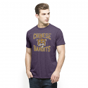 47 Brand LSU Vintage Chinese Bandits Scrum T-Shirt - Purple