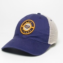 LSU Legacy Purple & Beige Mesh Relaxed Adjustable Snapback Hat
