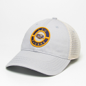 LSU Legacy Grey & Beige Mesh Relaxed Adjustable Snapback Hat