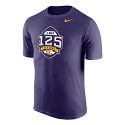 Nike LSU Tigers 125 Seasons Performance T-Shirt - Purple