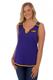 LSU Tigers Women's Game Day Tunic Top - Purple