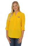 LSU Women's Missy Tunic Top - Gold