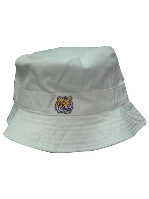 LSU Tigers White Toddler Bucket Hat