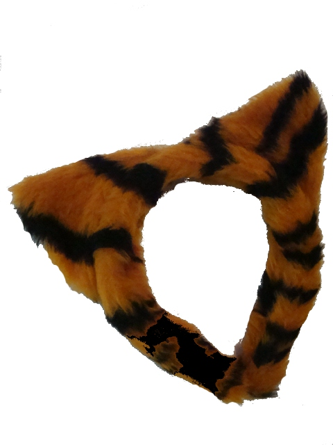 LSU Tiger Ears Plush Headband