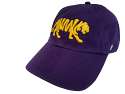 LSU '47 Brand Clean Up Adjustable Silhouette Tiger Hat - Purple