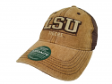 LSU Legacy Dashboard Trucker Hat - Brown
