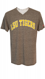 LSU Men's Grey League Twisted Tri Blend Tee