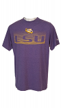Colosseum LSU Men's Electric Purple Tee