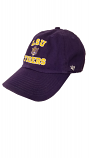 LSU Purple College Vault Vintage Beanie Tiger Adjustable Clean Up Cap
