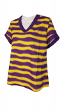 LSU Women's Jessica Purple and Gold Tunic