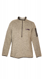LSU Antigua Women's Grey Fortune Pullover Jacket