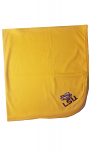 LSU Tigers Gold Baby Blanket