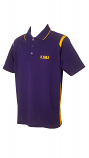 LSU Men's Antigua Merit Performance Polo - Purple