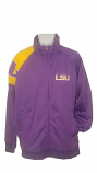 LSU Men's Purple Full Zip Jacket