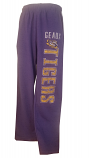 LSU Adult Purple Vintage Sweat Pants
