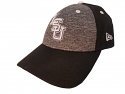 LSU New Era Black & Grey The League Shadow 9FORTY Adjustable Structured Cap