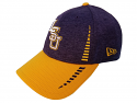 LSU New Era Purple & Gold Speed Tech 9FORTY Adjustable Structured Cap