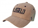 LSU Zephyr Grey Sized Tailored Polyester Structured Hat