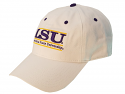 LSU The Game White Classic Bar Design Relaxed Adjustable Hat