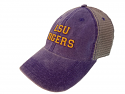Legacy LSU Purple & Grey Dashboard Trucker Hat