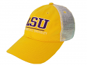 Legacy LSU Gold & Tan Relaxed Twill Trucker Hat