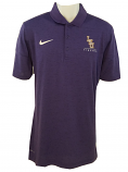 LSU Nike BCS  Men's Purple Dri-FIT Performance Baseball Polo