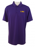 LSU Nike Men's Golf Purple Dri-FIT Performance Polo - xl onlly