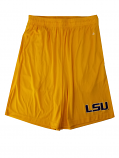 LSU Adult Gold B-Core Pocketed Shorts
