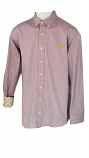 LSU Men's Purple Oxford Button Down Shirt