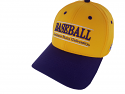 The Game LSU Purple and Gold Flex Fit Baseball Cap