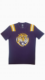 LSU 47 Brand Men's Purple Retro Tiger Head Football Jersey Tee