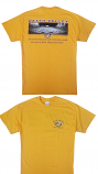 LSU Men's Gold Welcome to My House Football Friends T-Shirt