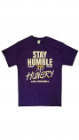 Bayou LSU Adult Purple Stay Humble and Hungry T-Shirt