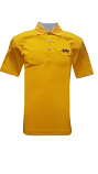 Cutter & Buck LSU Men's Gold Glendale Drytec Polo