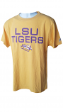 LSU Men's Gold League Cotton T-Shirt