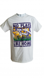 Bayou LSU Adult White No Place Like Home T-Shirt