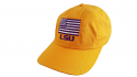 LSU Gold Ahead Extreme Fit Adjustable American Flag Hat