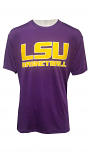 Bayou LSU Men's Purple Polyester Basketball Tee